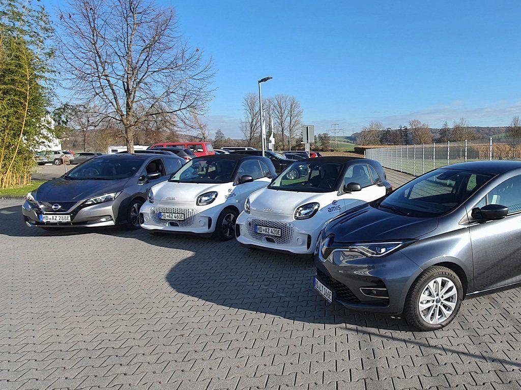 Elektro-Autos von Amis